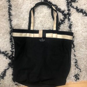 Kate spade tote. Needs cleaning on handles